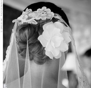 Mantilla Veil Hairstyles | Mantilla Veils » Swoon, Inspiration Blog for Australian Brides