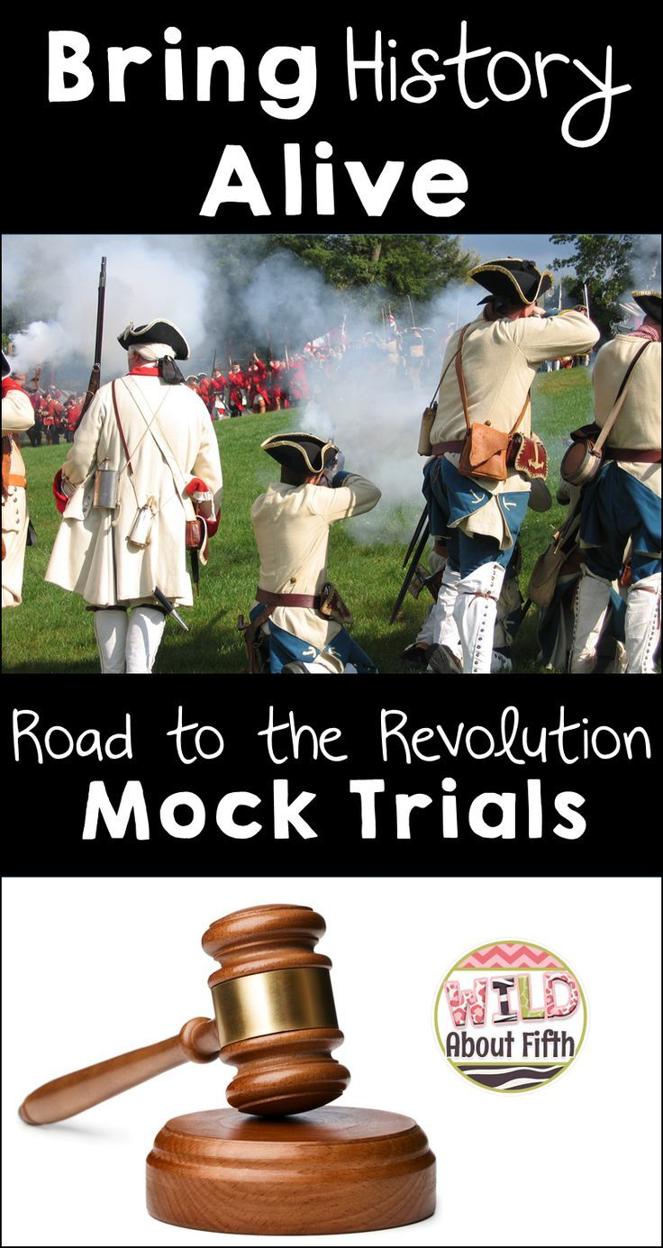 Bringing history alive is very important and so much fun! In our classroom, we bring the American Revolution to the present day by putting the Sons of Liberty and the British Red Coats on trial during our classroom 'Mock Trials.' You'll love this project - it's just so amazing to see your students living out the history they've learned in their text books!
