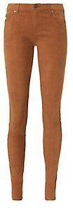 AG Super Skinny Leather Legging