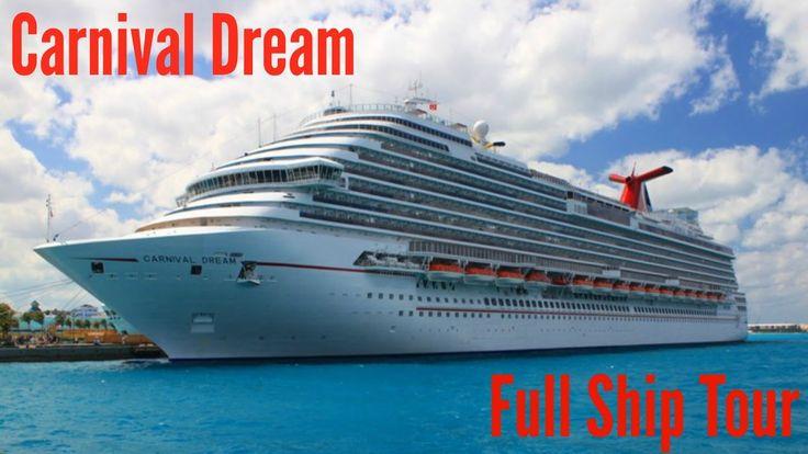 Carnival Dream: Full Ship Tour