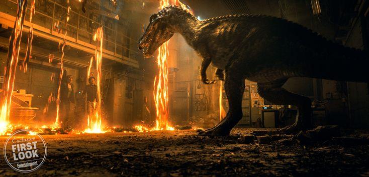 <em>Jurassic World: Fallen Kingdom</em> first look stares down a dinosaur