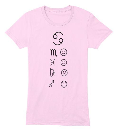 69 M Light Pink T-Shirt Front