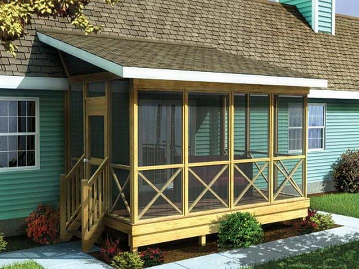 best 25+ small back porches ideas on pinterest   small porches ... - Small Back Patio Ideas