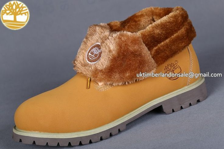 UK Timberland Women Wheat Roll-Top Waterproof Winter Fleece-Lined Boots £ 69.59