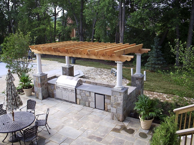 33 best images about outdoor kitchens on pinterest for Outdoor kitchen bar ideas