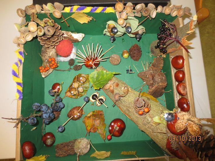 Natuurlijk(e) kunst :: Kunst & Kolder herfstkijkdoos