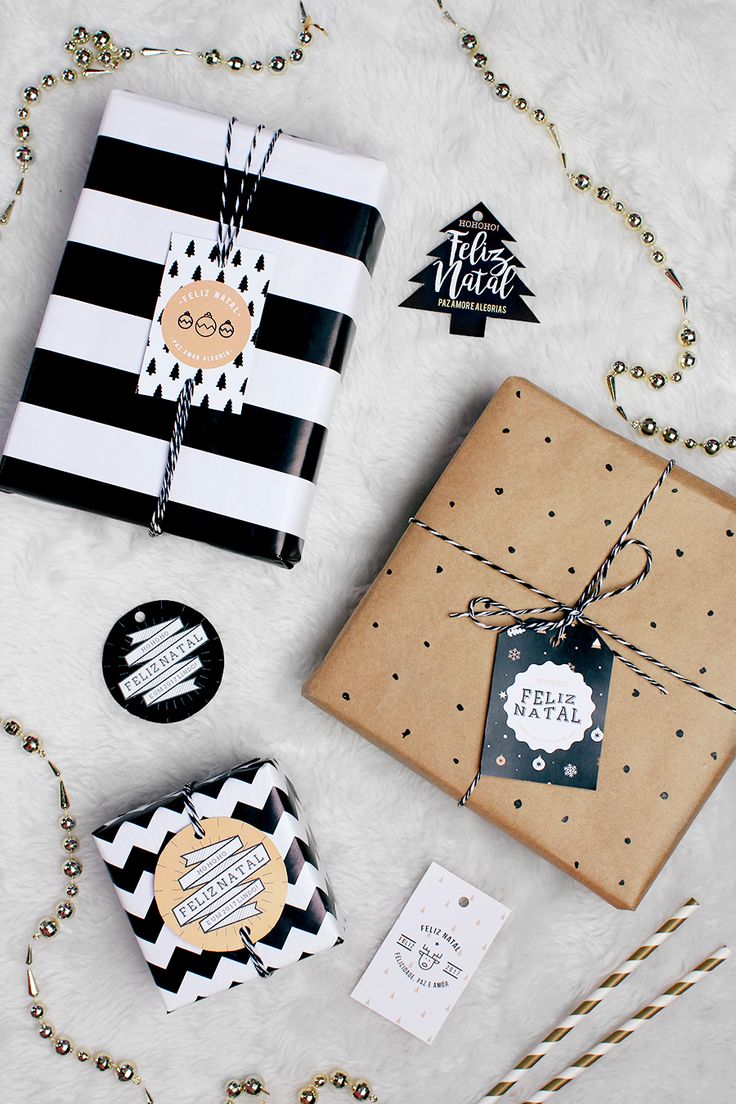 Meninices da Vida: Tags para os presentes de Natal
