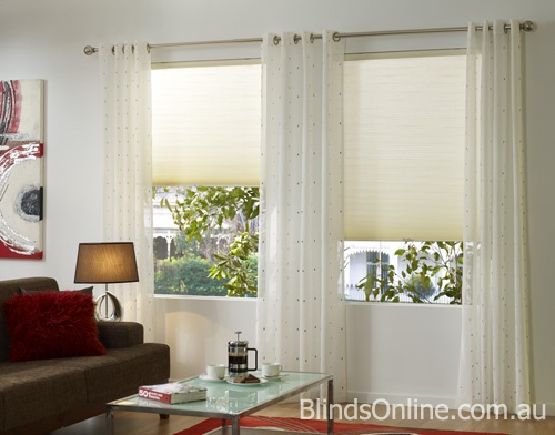 Honeycomb Blinds offer a high energy rating
