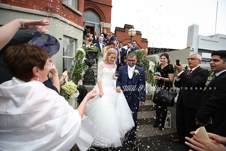 Beautiful shot! We love confetti :) #Appleberrypress #realbrides