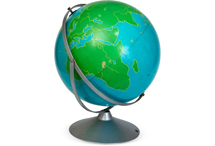 "16"" project globe by A. J. Nystrom Co., Chicago.: Nystrom, Teaching Globes, Chicago, Products, Projects Globes"