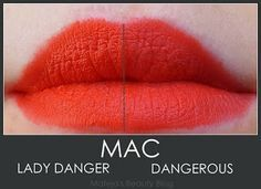 dangerous lipstick mac