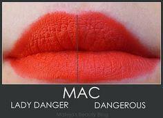 dangerous lipstick mac