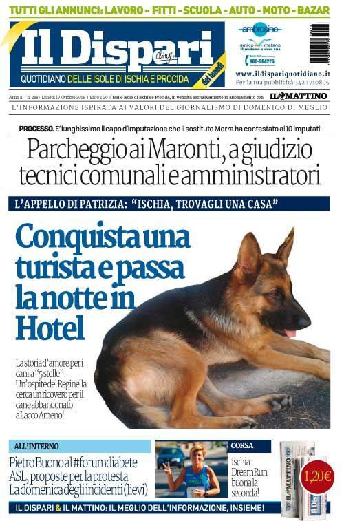 La copertina del 17 ottobre 2016  #ischia  #ildispari