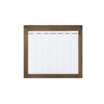 Home Decorators Collection Soren Dry Erase Panel with Reversible Magnetic Calendar Board-9200820900 - The Home Depot