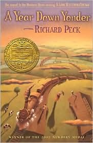Great reading activities to go along with A Year Down Yonder by Richard Peck.