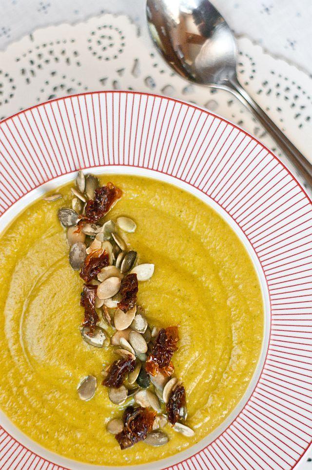 Zupa krem z batata i brokuła ~ Nie umiem gotować!