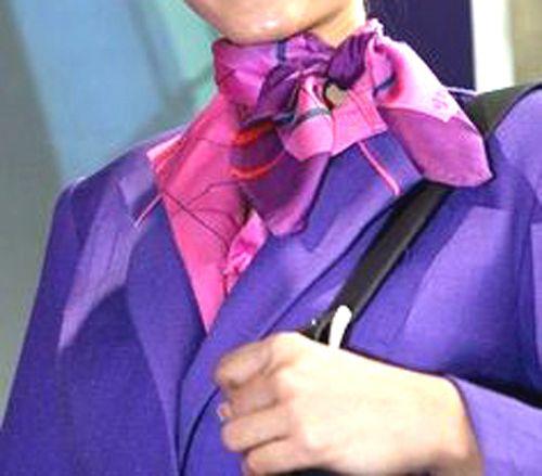 THAI Airways silk scarf
