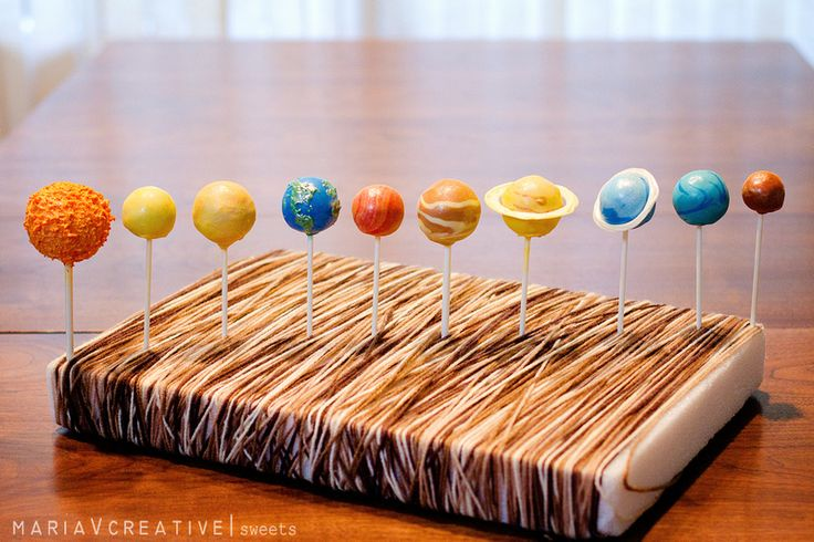 solar system brownie - photo #17
