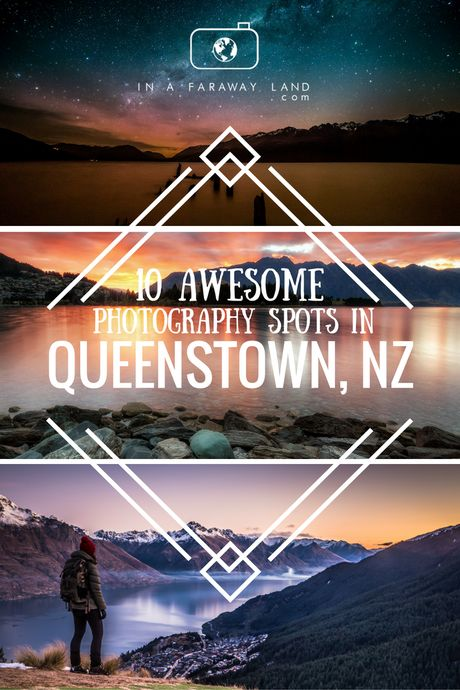Best Photography Spots in Queenstown, #NewZealand