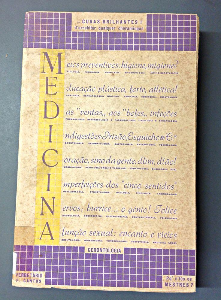 Medicina: Curas Brilhantes! Paulo de Cantos 1946 Tip. Liga dos Combatentes da Grande Guerra (Lisboa)