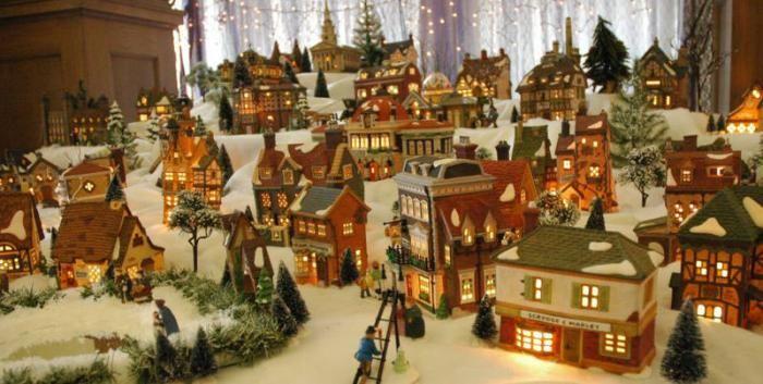 Dept 56 Christmas Villages