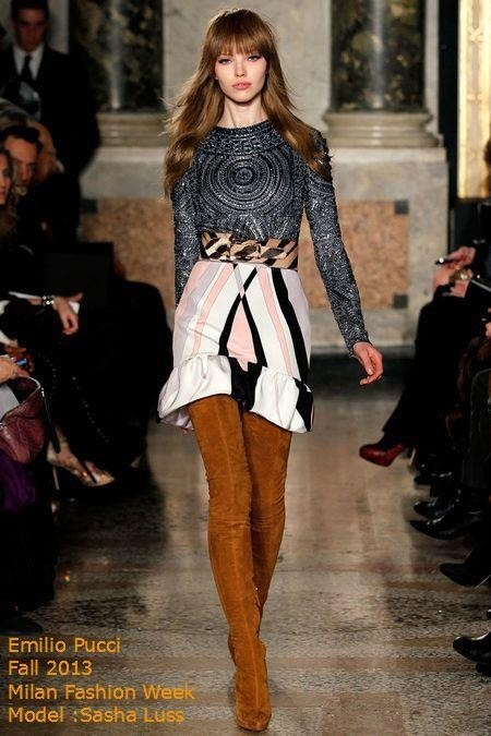 #emiliopucci # chic ..... The suede over the knee ....over the knee boots are everything !!!!