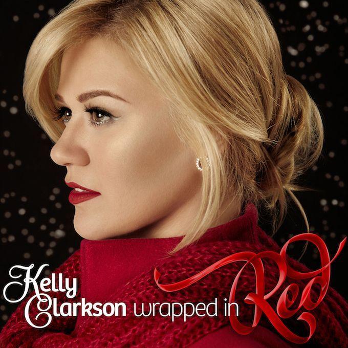 """#KellyClarkson und ihr #Weihnachtsalbum """"#WrappedinRed"""""""