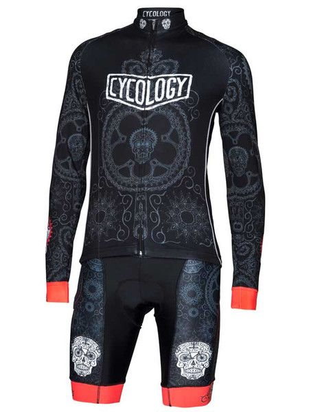 The Day of the Living Mens Long Sleeve Cycling Jersey is one of our favourite designs. FREE SHIPPING!