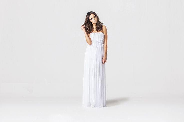 wedding dress, suknia ślubna, minimalizm www.joannawodzinska.pl