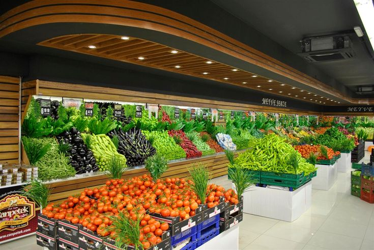 this supermarket is overflowing with produce maybe they could use a few more shelving units. Black Bedroom Furniture Sets. Home Design Ideas