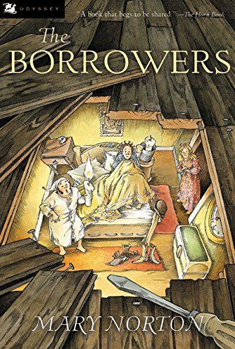 Must-read read aloud books for 8-year-olds *Great list for kids. I'm checking out The Borrowers from the library.