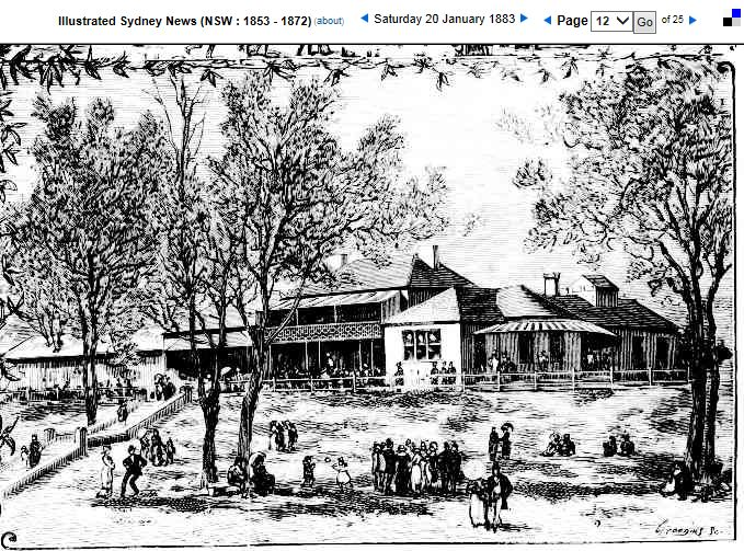 Sydney Holiday Resorts from the Illustrated Sydney News 1883