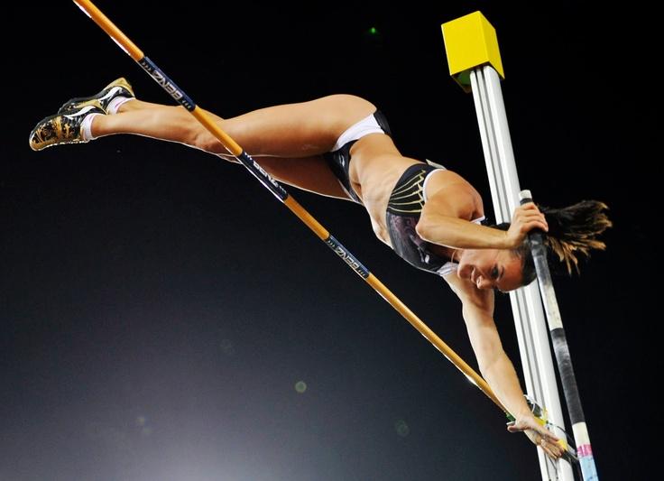 Yelena Isinbayeva - Russian pole vaulter