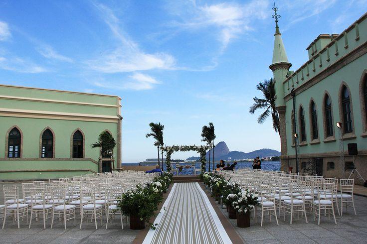 Casamento na Ilha Fiscal Fotografia: Flávio Matias