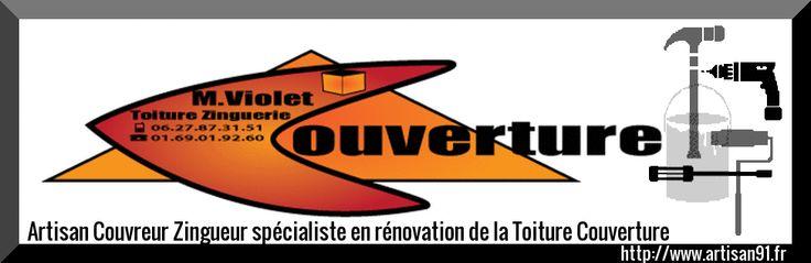 http://www.artisan91.fr le site web de la toiture couverture