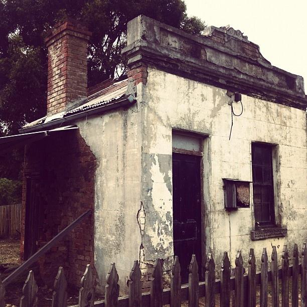 tiny miner's cottage