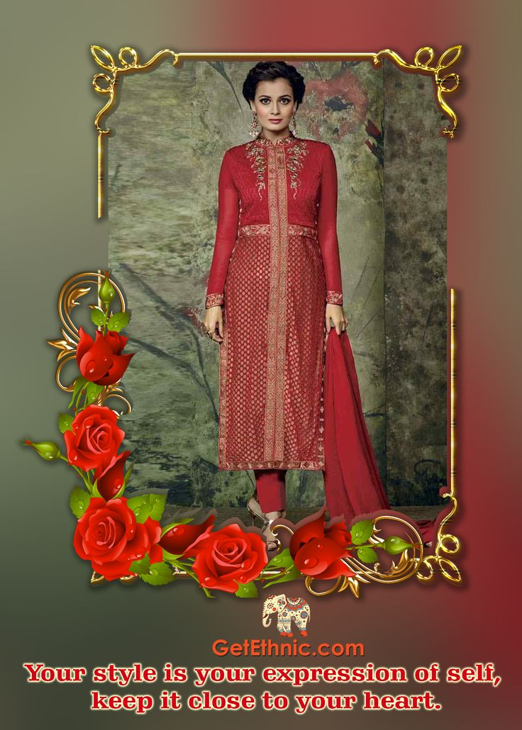 Check out this beautifully tailored Red Faux Georgette Suit, which will be a smart pick for all fashionable women. Team it with a pair of flat sandals while heading for casual occasions. Price- INR 5494 USD 96.15 Make your own look with GetEthnic at https://getethnic.com/product/LA398D2001_Red_Faux_Georgette_Suit #GetEthnic #Dress #EthnicWear #fashion #fashionista #fashionable #MakeYourFashion #StreetStyle #Anarkali #Saree #Lehenga #onlineshopping #shoponline #onlineboutique