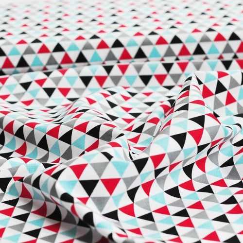 tkanina bawełniana trójkąty Celebration Robert Kaufman