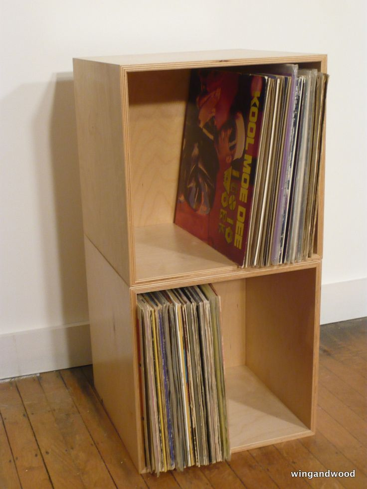 50 Best Lp Record Storage Crates Images On Pinterest