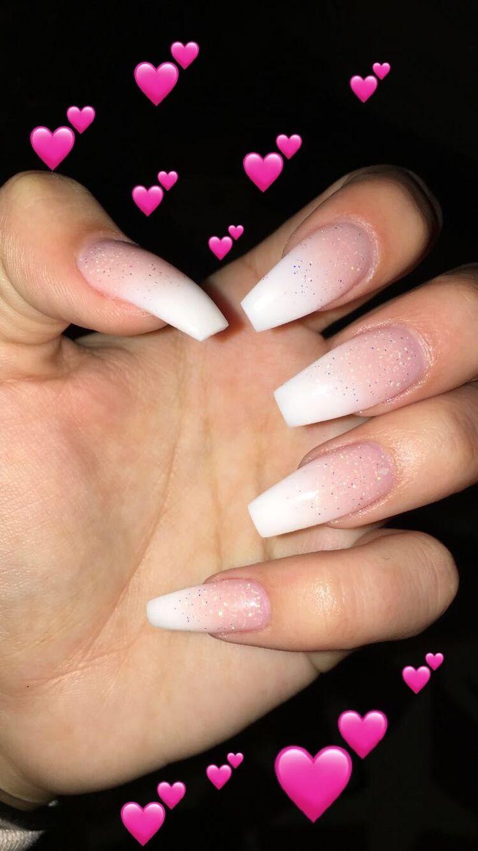 #acrylic #nails #babyboomer #AcrylicNailsOval