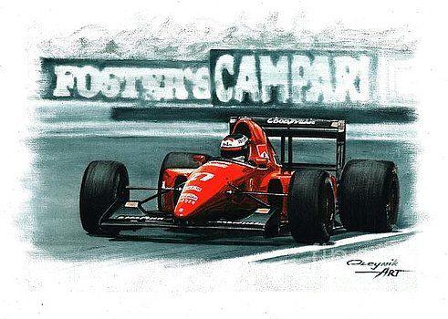 1992 Ferrari F92A by Artem Oleynik