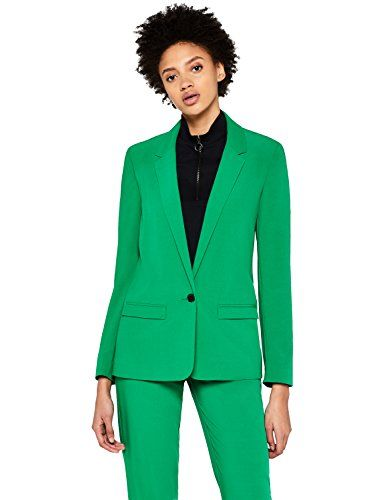 Find Women S Blazer Suit Jacket Green 8 Manufacturer S