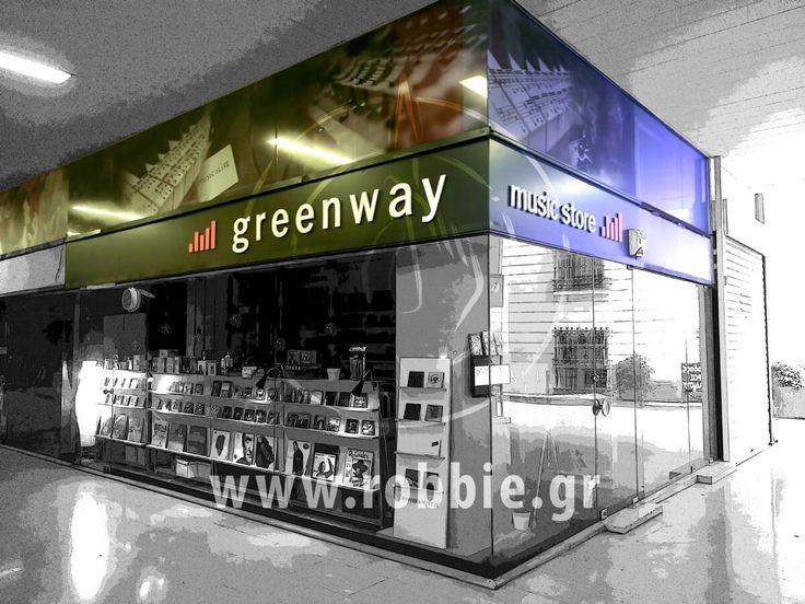 Greenway / Επιγραφή // #3D_Γράμματα #Εξωτερικές_Επιγραφές #Επιγραφές #robbieadv