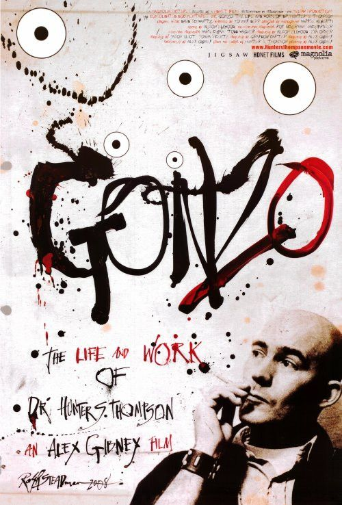 Gonzo: The Life and Work of Dr. Hunter S. Thompson 27x40 Movie Poster (2008)