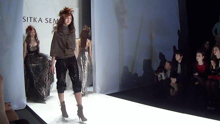 Показ Sitka Semsch на Mercedes-Benz Fashion Week Russia