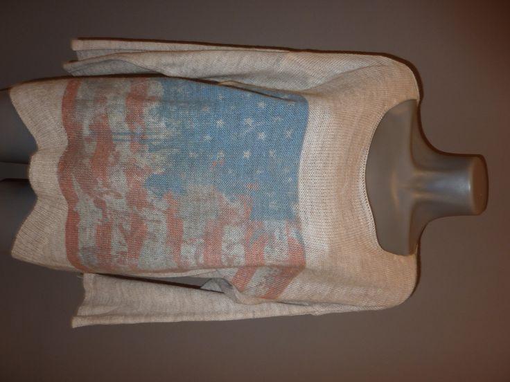 Trui met Amerikaanse vlag