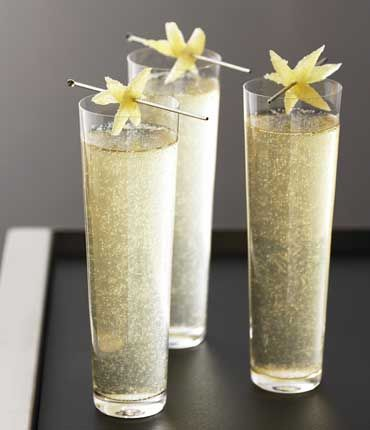 Pear Poire: GREY GOOSE® La Poire, Pear, Sugar, Lemon Juice, Sparkling Wine (Moscato)