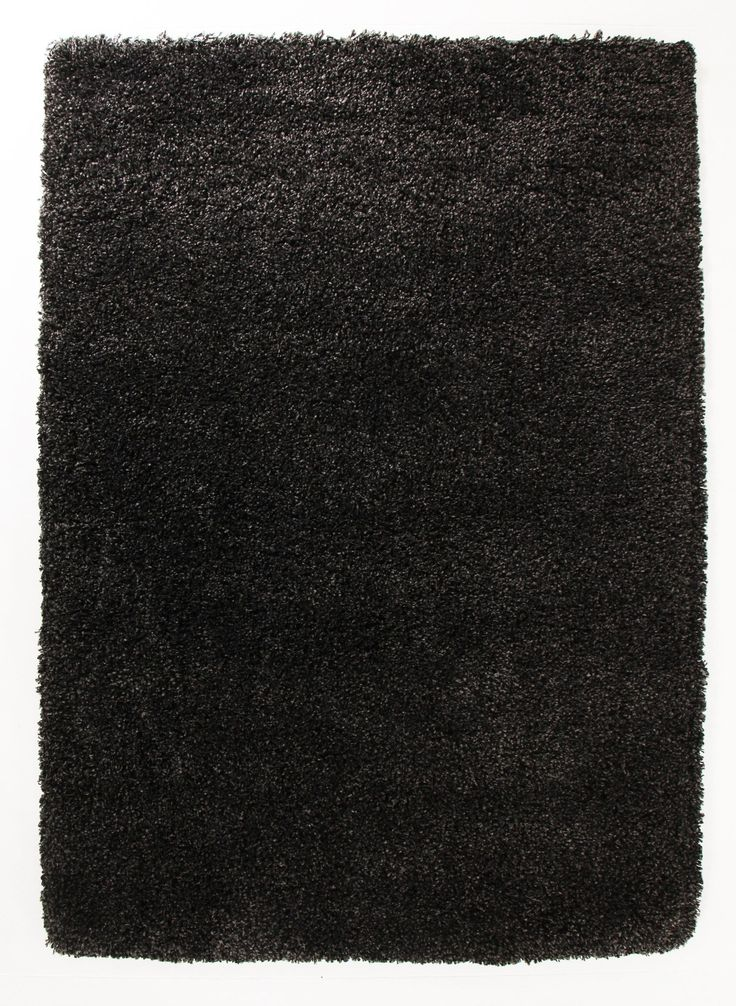 Ultra Thick Super Soft Shag Rug Charcoal - Floorsome