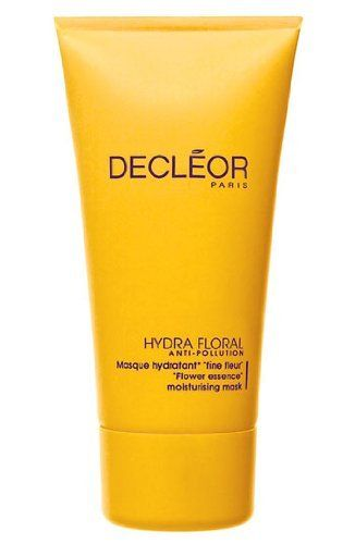 Decleor Hydra Floral Moisturizing Mask 1.69 fl oz. by Decleor. $32.82. Deep penetration. Refining, firming and cleansing properties. Prevents outside pollution. All-natural composition. Uses intense, gradual hydration methods. Decleor Hyrda Floral is a concentrated, anti-pollution moisturizing mask. A plant-derived formula that employs the protection of water channels in skin for extreme hydration. Relaxes skin and protects against pollution with use twice a week.