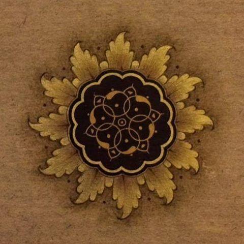 #islamicart #tezhip #tazhip #tazhib #tezhipsanati #hatsanati #hattat #sun #geometric #art